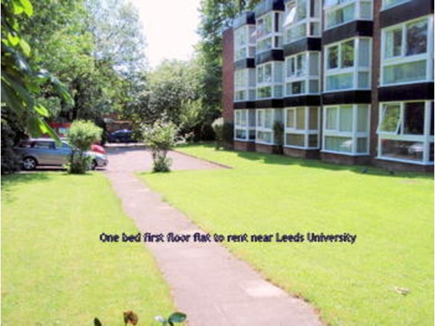 1 bed furnished flat to rent near Leeds Uni. in Leeds Property