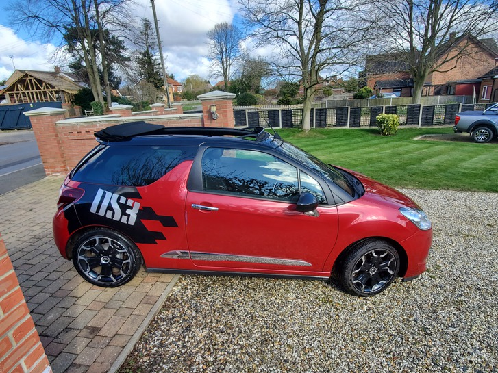 2013 Citroen DS3 Convertible 1.6 manual Vehicles
