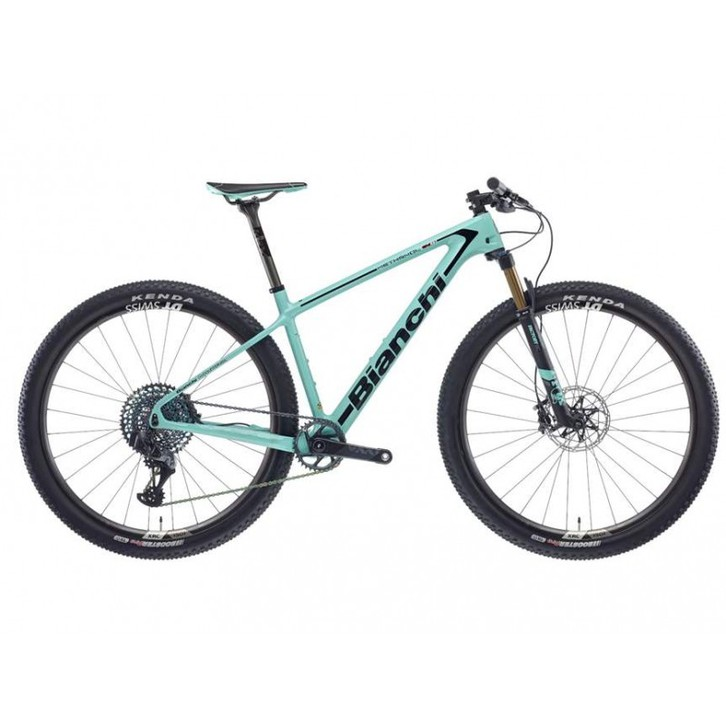 Bianchi Methanol CV RS 9.1 Carbon Mountain Bike 2021 Black Full Glossy (CENTRACYCLES) Sport & Outdoor
