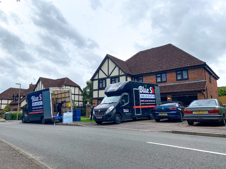 BlueSky Removals Surrey Vehicles