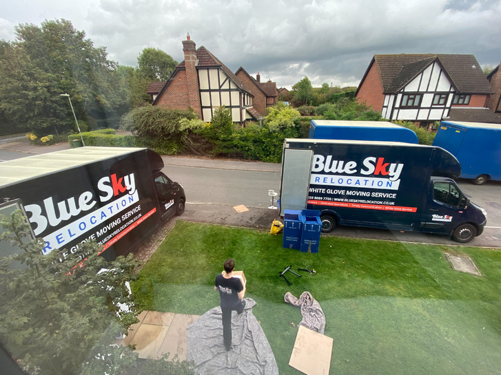 BlueSky Removals Surrey Vehicles 3