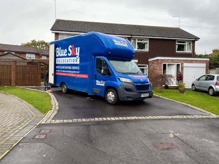 BlueSky Removals Surrey Vehicles 4