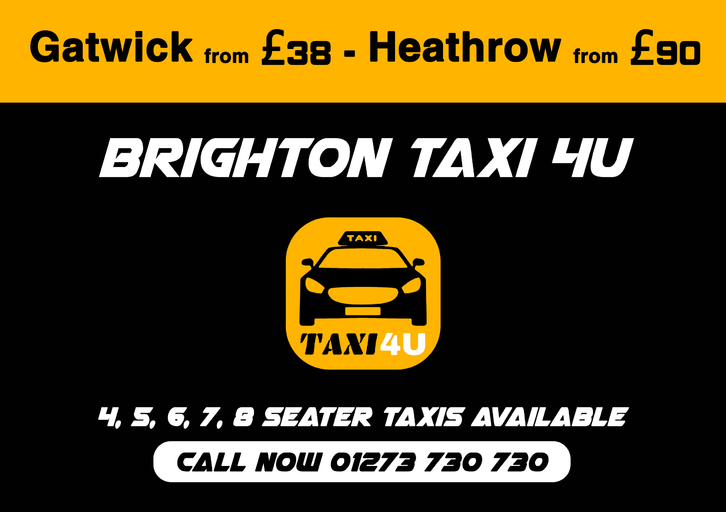 Brighton Taxis 4U Vehicles