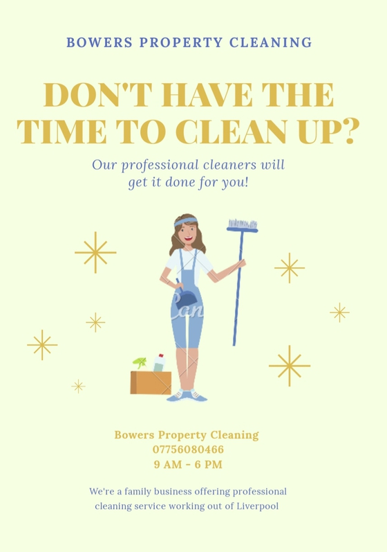 Cleaning service, deep cleans, end and start of tenancy and commercial  Household 2