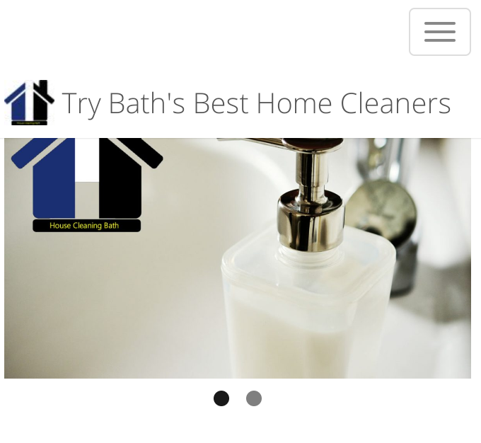 Domestic cleaning bath Household