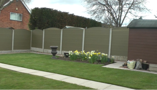 Fence repairs in Nottingham Property 2