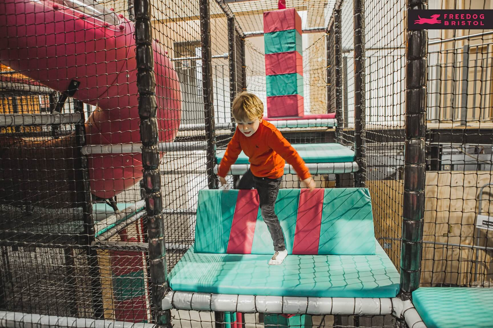Freedog Bristol is an activity centre for all ages. Sport & Outdoor 3