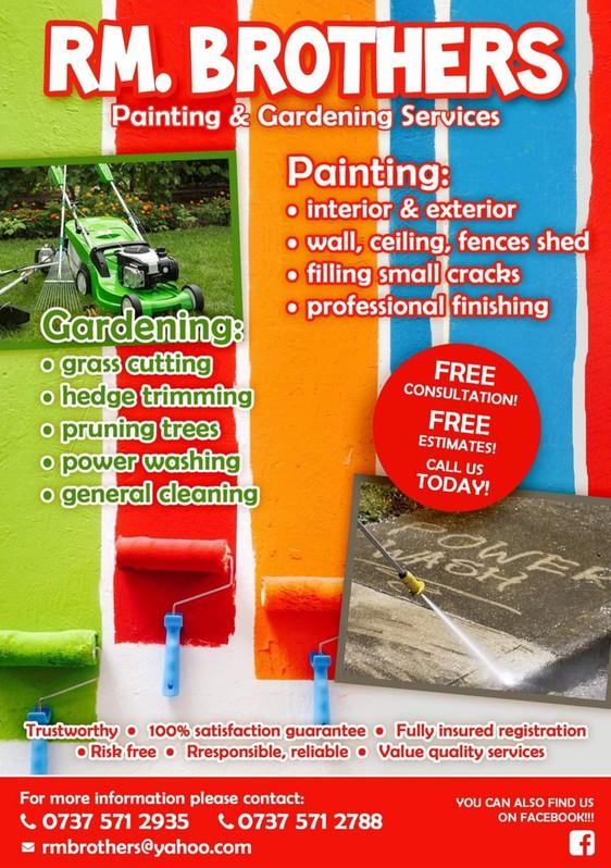 Gardening services Garten & Crafts