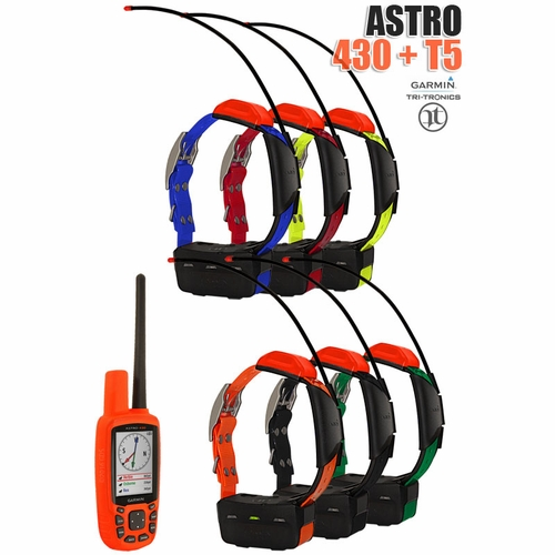 Garmin Astro 430 Handheld with 2 T5 Collars Cost $450 USD  Other