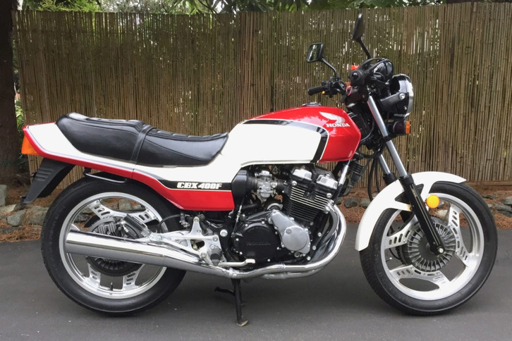 Honda CBX 400f motorcycle Other