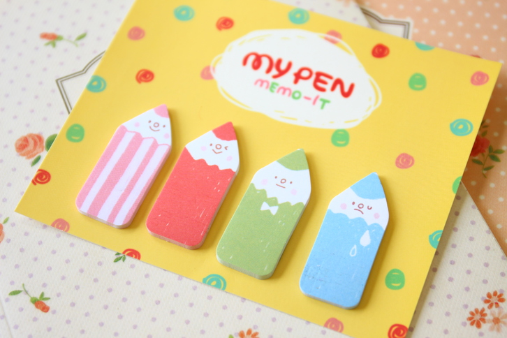 MY PEN FRIENDS MEMO-IT sticky note memo pad sets Office & Commercial 2
