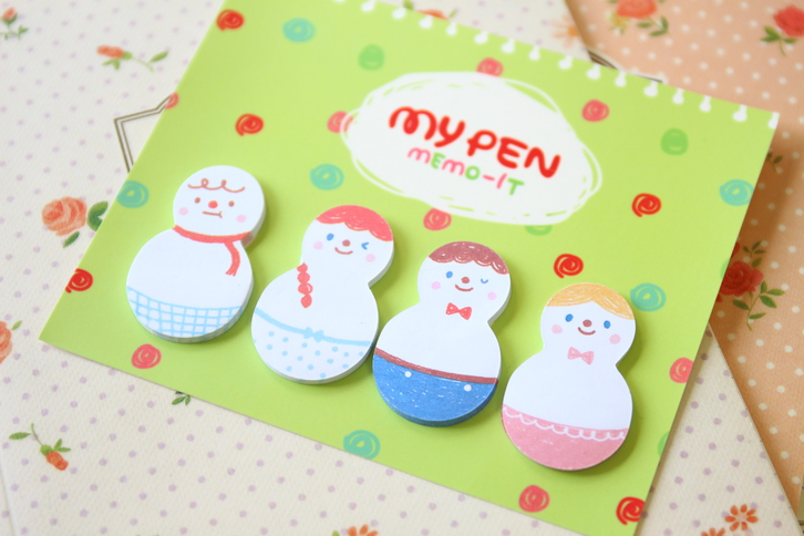 MY PEN FRIENDS MEMO-IT sticky note memo pad sets Office & Commercial 3