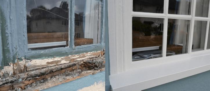 Our sash windows restorations are a cost-effective way to achieve visible, high-quality craftsmanship. Sash windows repair Essex. Garten & Crafts