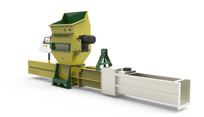 Polyethylene foam waste Recycling Compactor Vehicles