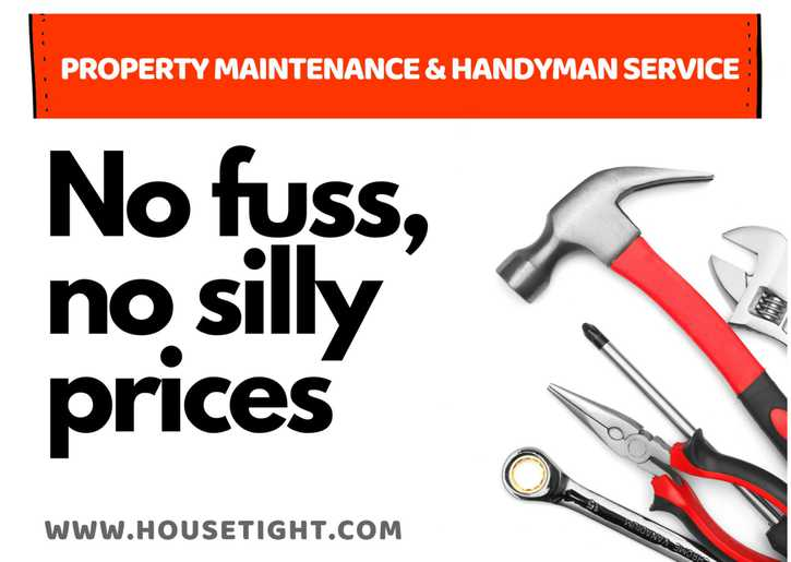 Property Maintenance & Handyman Company  Household 2