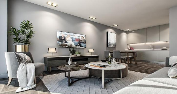 Regent Plaza Manchester, 1, 2, 3 bed apartment for sale manchester city centre  Property 2