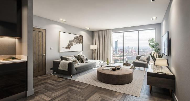 Regent Plaza Manchester, 1, 2, 3 bed apartment for sale manchester city centre  Property 3