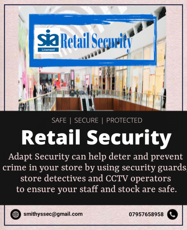 Adapt Security Manned Guarding Ltd, Security Services  Other 2