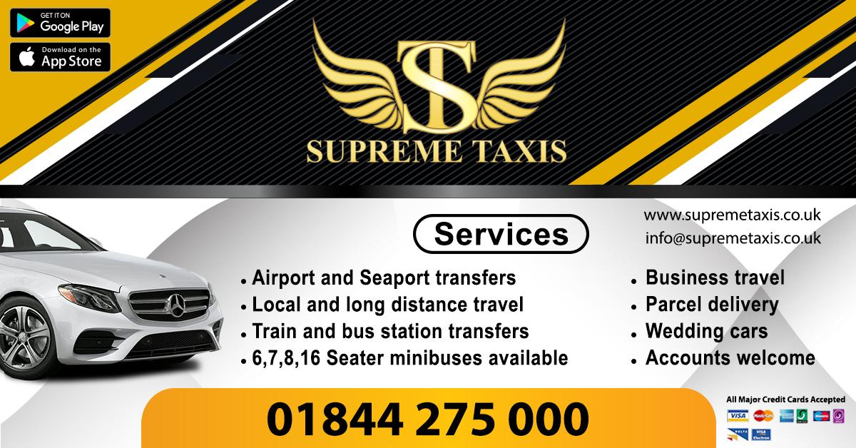 Supreme Taxis is a dynamic taxi company providing services in Thame. Vehicles