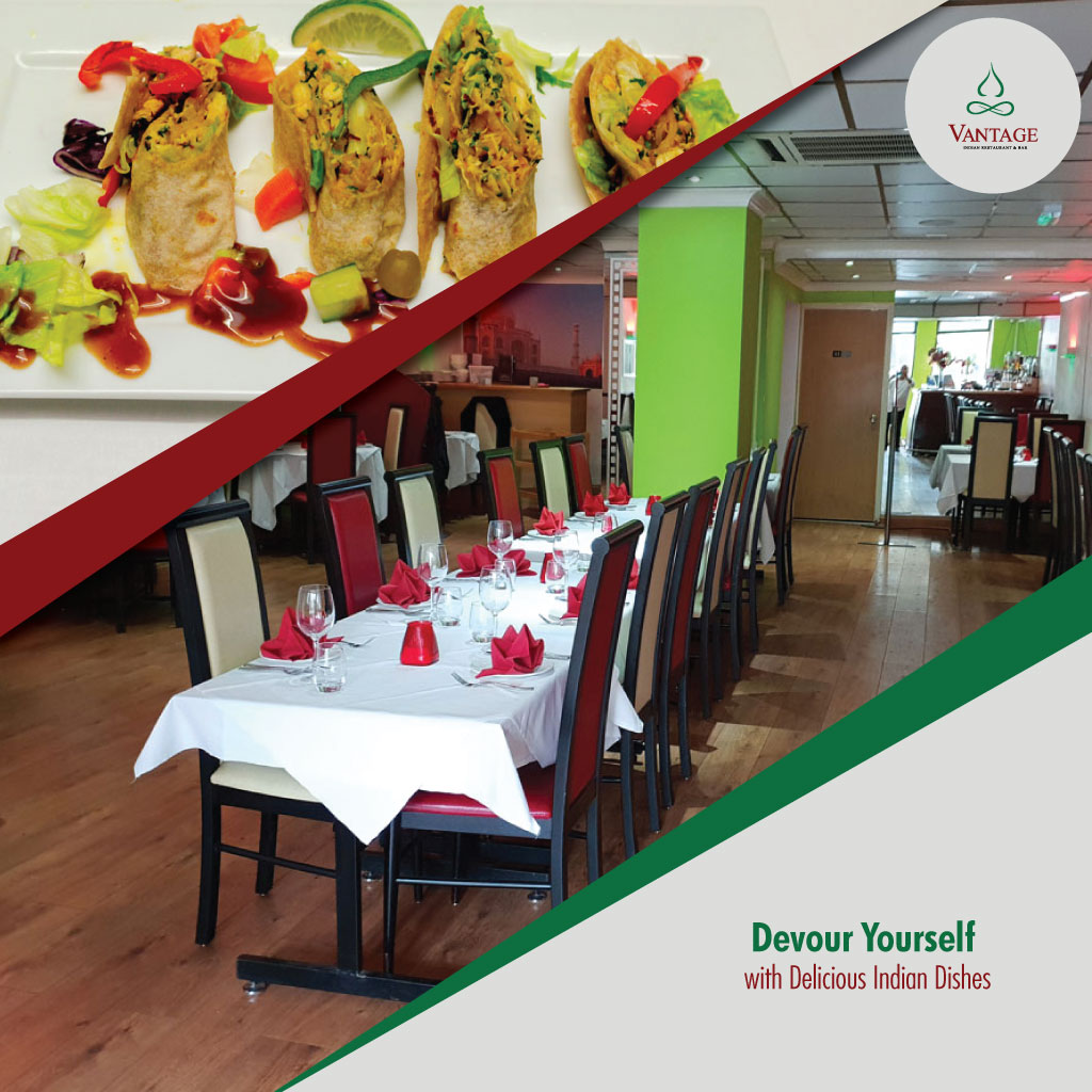 Vantage Signature Dishes at Vantage Indian Restaurant Tickets & Vouches