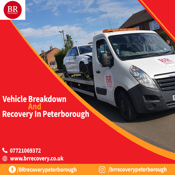 Vehicle Recovery Services in Peterborough Vehicles