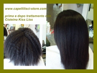 CISTEIN KISS LISS is an excellent product to smooth the hair.