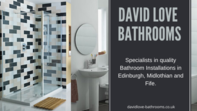 David Love Bathrooms are the best choice for a bespoke design and installation service you can trust. We have been fitting bathrooms in Edinburgh for many years. We have built up a reputation as one of the best bathroom companies in Edinburgh.