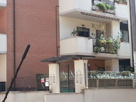 Flat, in Rome Italy living room, kitcen, bedrum,bathroo,two large balconies,