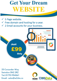 Website for just £99 Limited Offer Grab it!