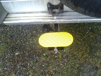 a step that fits onto any tow hitch